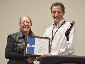 Carol Black receives the 2016 TPSA Program Innovation Award